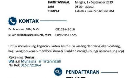 REUNI AKBAR JURUSAN KSDP FIP UNIVERSITAS NEGERI MALANG